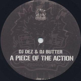 DJ Dez & DJ Butter / A Piece Of The Action (2LP) label