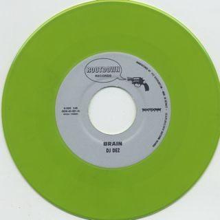 DJ Dez / New World c/w Brain (Green)