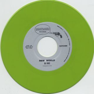 DJ Dez / New World c/w Brain (Green) back