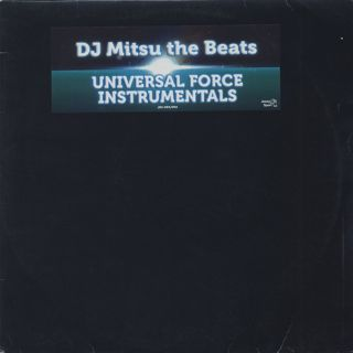 DJ Mitsu The Beats / Universal Force Instrumentals front