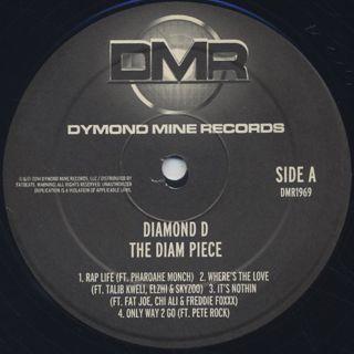 Diamond D / The Diam Piece label