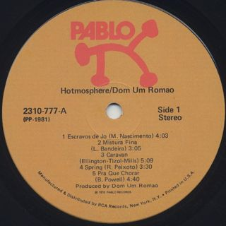 Dom Um Romao / Hotmosphere label