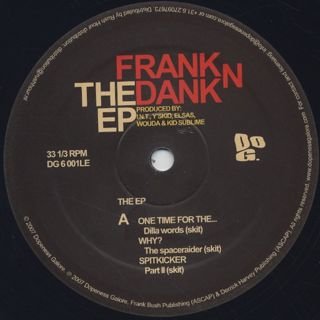 Frank N Dank / The EP label