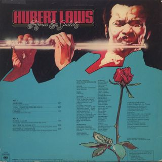 Hubert Laws / Romeo And Juliet back