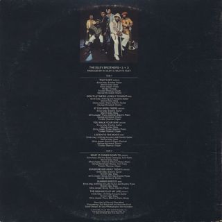 Isley Brothers / 3+3 back