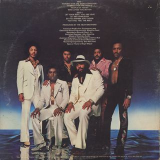 Isley Brothers / Harvest For The World back