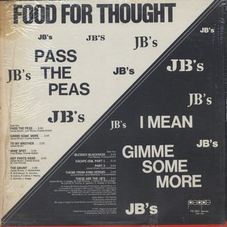 J.B.'s / Food For Thought back