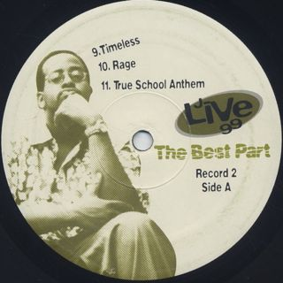 J-Live / The Best Part label
