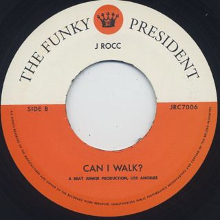 J. Rocc / Funky President Edit Vol.6 label