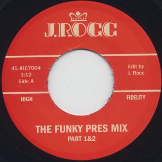 J. Rocc / Funky President Edits Vol. 4 back
