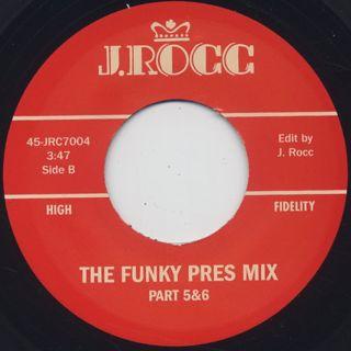 J. Rocc / Funky President Edits Vol. 4 label