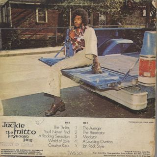 Jackie Mitto / The Keyboard King back