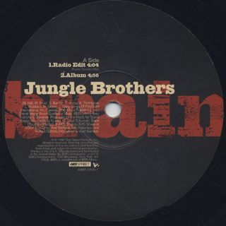 Jungle Brothers / Brain label