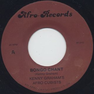 Kenny Graham's Afro Cubists / Bongo Chant front