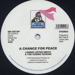 Lonnie Liston Smith / Expansions c/w A Chance For Peace back