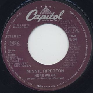 Minnie Riperton / Here We Go c/w Return To Forever