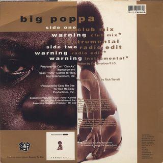 Notorious B.I.G. / Big Poppa back