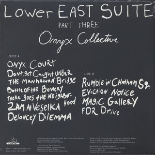 Onyx Collective / Lower East Suite(Part Three) back