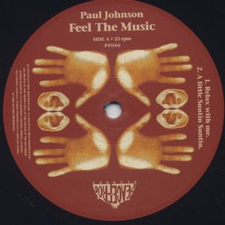 Paul Johnson / Feel The Music (2LP) label