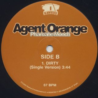 Pharoahe Monch / Agent Orange label