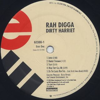Rah Digga / Dirty Harriet label