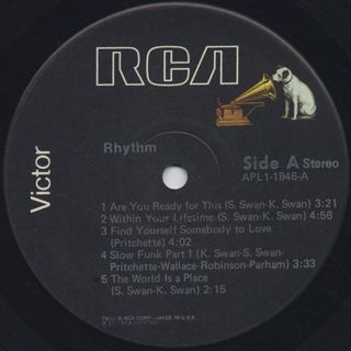 Rhythm / S.T. label