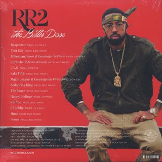 Roc Marciano / RR2 - The Bitter Dose (2LP) back