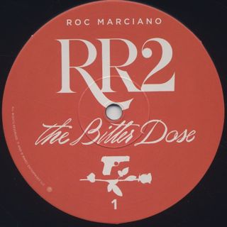 Roc Marciano / RR2 - The Bitter Dose (2LP) label