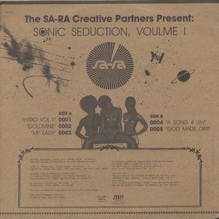 Sa-Ra Ctreative Partners / Sonic Seduction, Volume 1 back