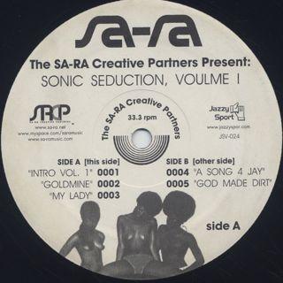 Sa-Ra Ctreative Partners / Sonic Seduction, Volume 1 label