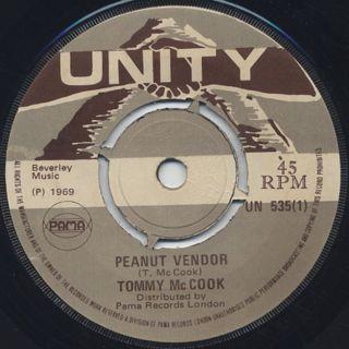 Tommy McCook / Peanut Vendor