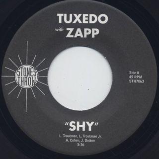 Tuxedo with Zapp / Shy back