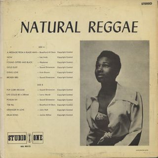V.A. / Natural Reggae back