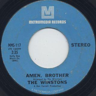Winstons / Amen, Brother (VG+)