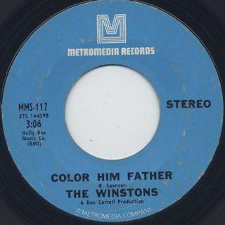 Winstons / Amen, Brother (VG+) back