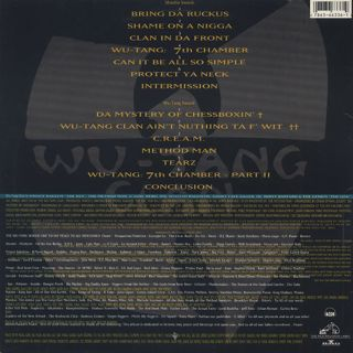 Wu-Tang Clan / Enter The Wu-Tang (36 Chambers) back