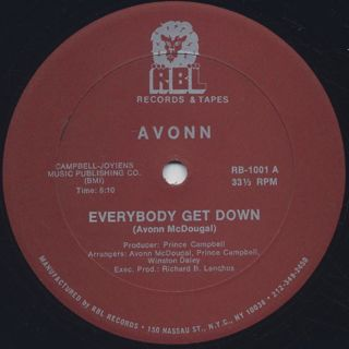 Avonn / Everybody Get Down