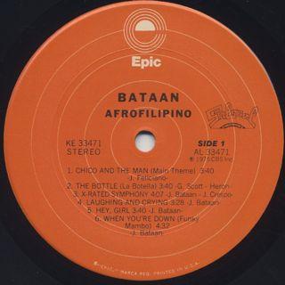Bataan / Afrofilipino label