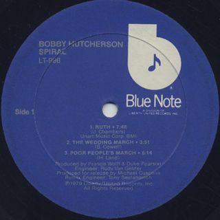 Bobby Hutcherson / Spiral label