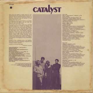 Catalyst / S.T. back