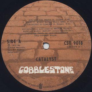 Catalyst / S.T. label