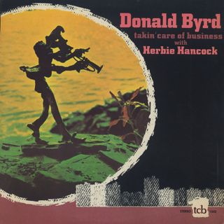 Donald Byrd with Herbie Hancock / Talkin' Care Of Business front