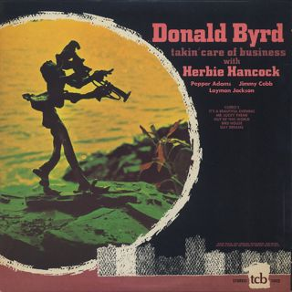 Donald Byrd with Herbie Hancock / Talkin' Care Of Business back