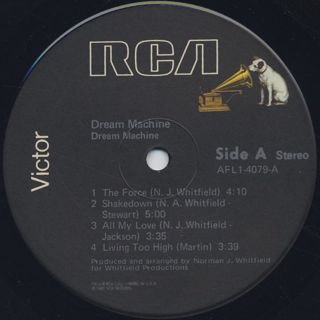 Dream Machine / S.T. label