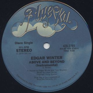Edgar Winter / Above And Beyond