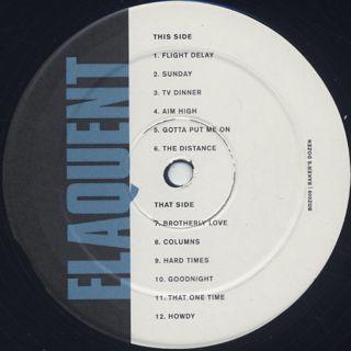 Elaquent / Baker's Dozen label
