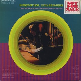 Emil Richards & The Microtonal Blues Band / Spirit Of 1976 Live At Donte's back
