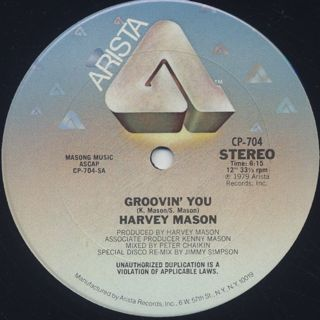 Harvey Mason / Groovin' You (12