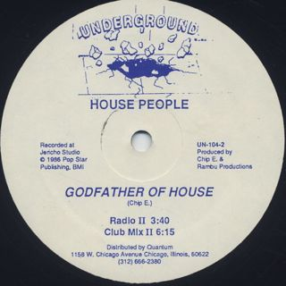 House People / Godfather Of House back
