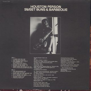 Houston Pearson / Sweet Buns & Barbeque back